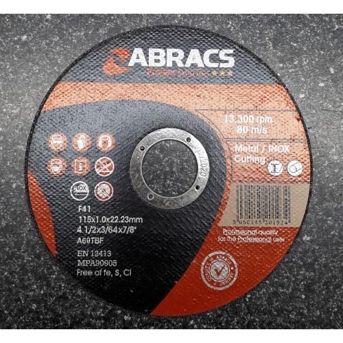 115-x-1.0-x-22mm-Flat-Metal-Cutting-Disc--Extra-Thin-DISC