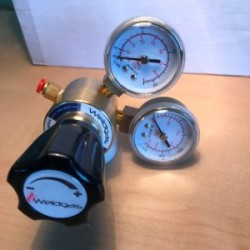 Mini MIG Regulator with Gauges