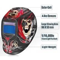 ClearWelding® SKULL Auto Darkening Headshield