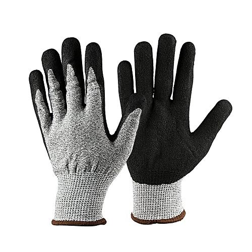 Anti-Cut-Gloves-Silver-Grey