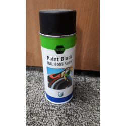 Satin Black Spray Paint- COLLECTION ONLY