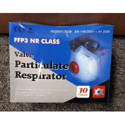 FFP3 Single Use Respirators Box of 10