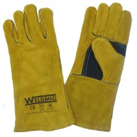 Gold/Yellow Welders Gauntlet