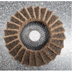 Polirico Disc 115mm Coarse Flap - Brown